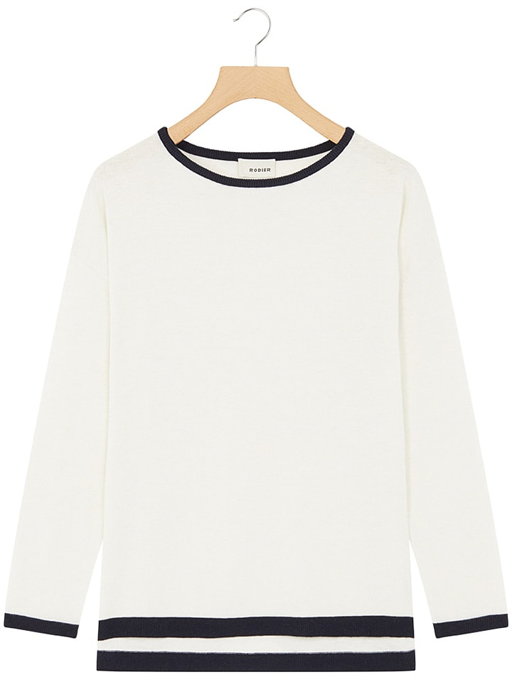 Rodier - Pullover in Creme   limango Outlet dead6766a8