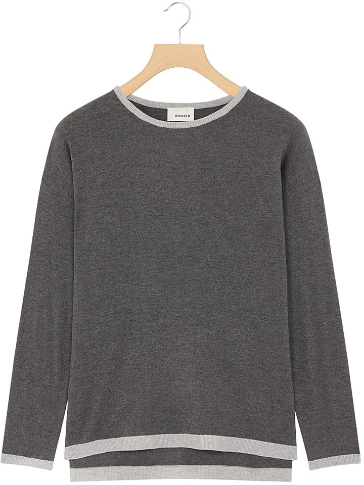 Rodier Sweter w kolorze ciemnoszarym