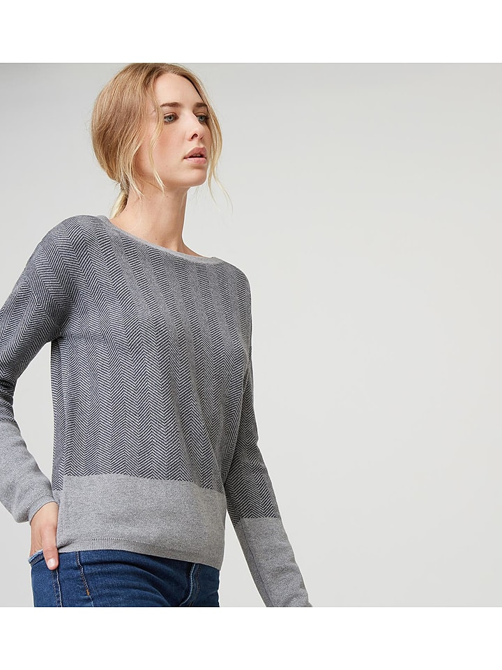 Rodier - Pullover in Dunkelgrau   limango Outlet 9a4e254569