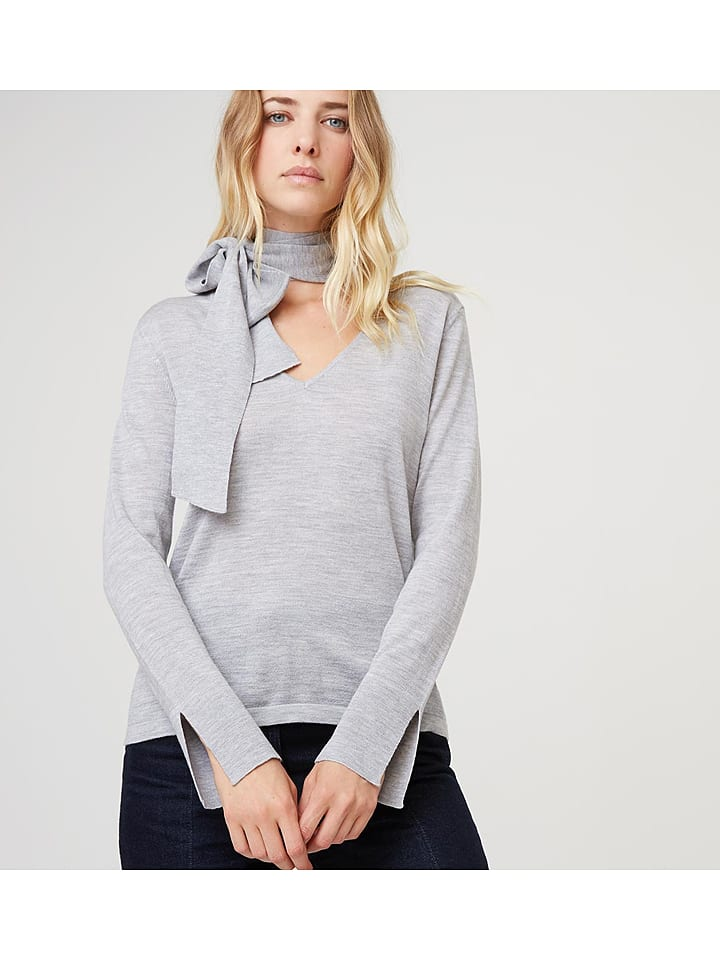 Rodier - Woll-Pullover in Hellgrau   limango Outlet 3cb6118bd3