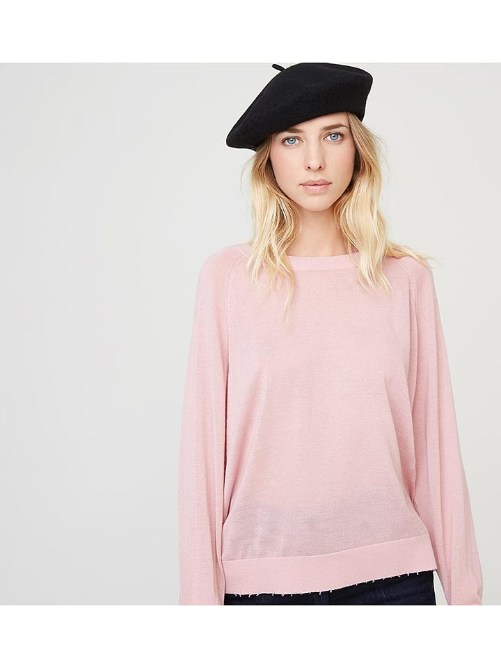 Rodier - Woll-Pullover in Rosa   limango Outlet 6c80774b76