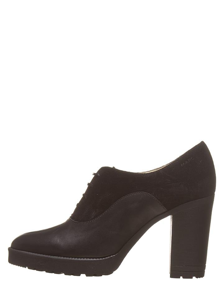 """Marc Shoes Skórzane botki """"Alina"""" w kolorze czarnym"""