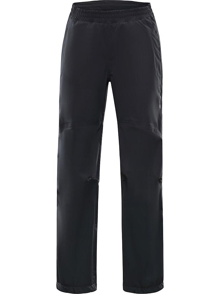 Alpine Pro Spodnie softshellowe w kolorze antracytowym