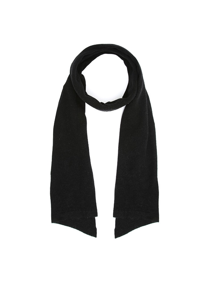 Cashmere95 Szal w kolorze czarnym - (D)190 x (S)50 cm