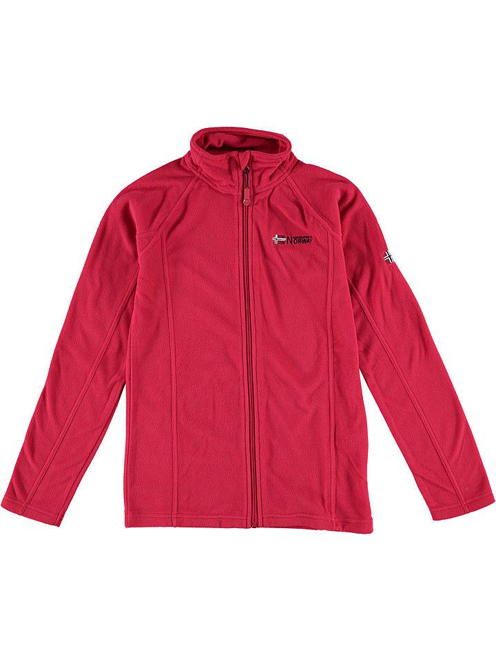 """Geographical Norway Kurtka polarowa """"Tug"""" w kolorze czerwonym"""