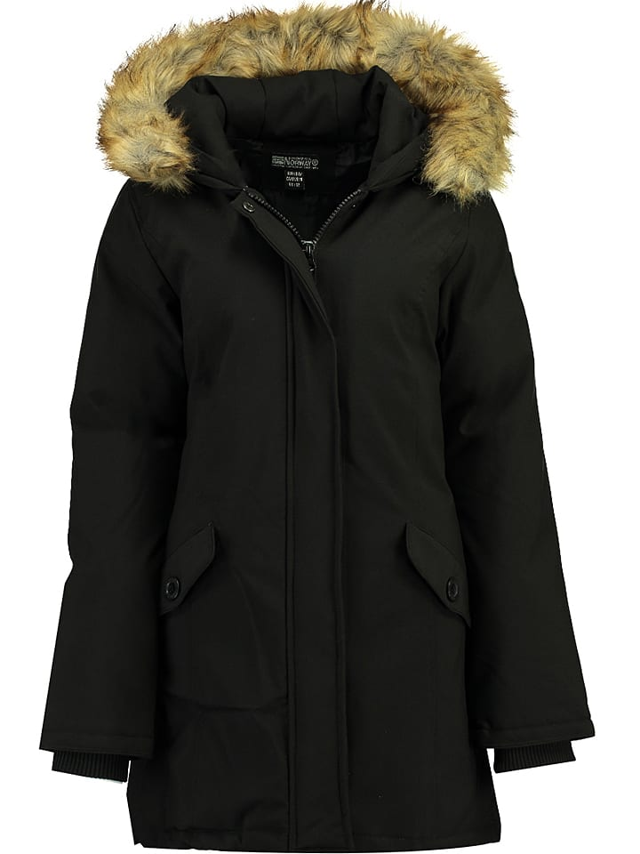 "Geographical Norway Parka ""Dinasty"" in Schwarz"