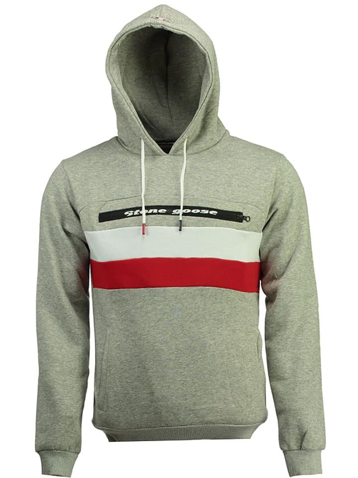 Stone Goose Sweatshirt Fario in Grau - 54% | Größe M | Herren pullover sport
