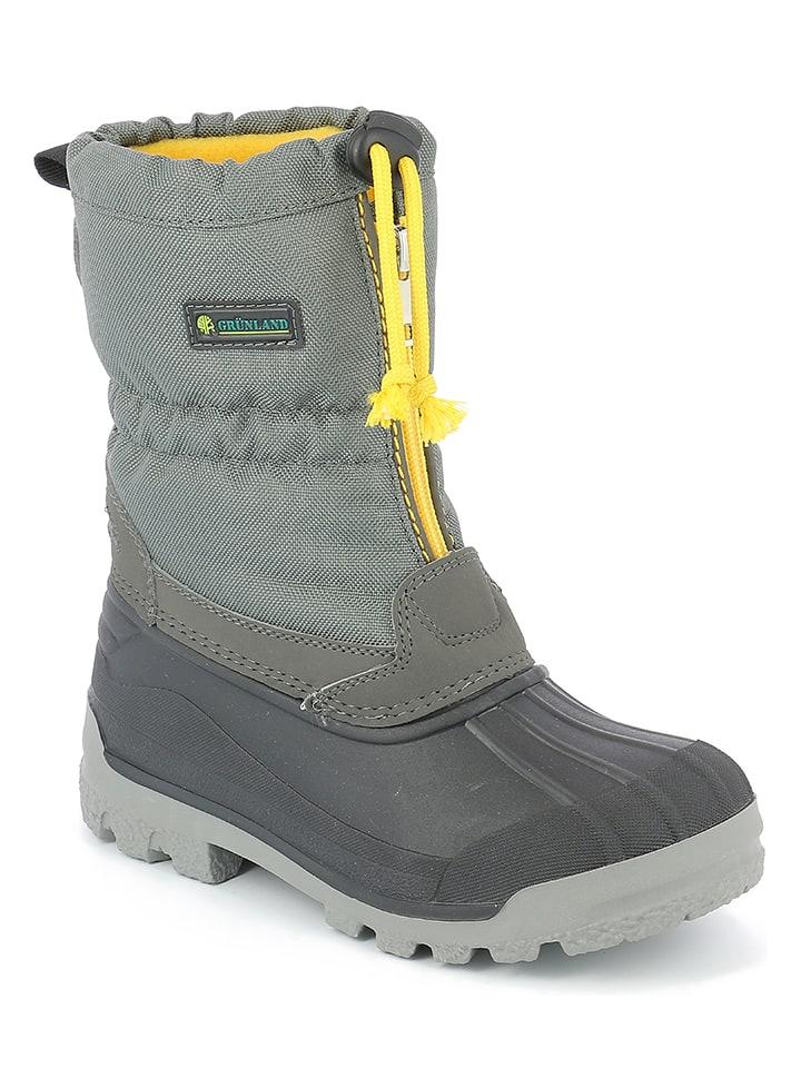 amazon images détaillées style le plus récent Grünland Junior - Bottes d'hiver - gris   Outlet limango