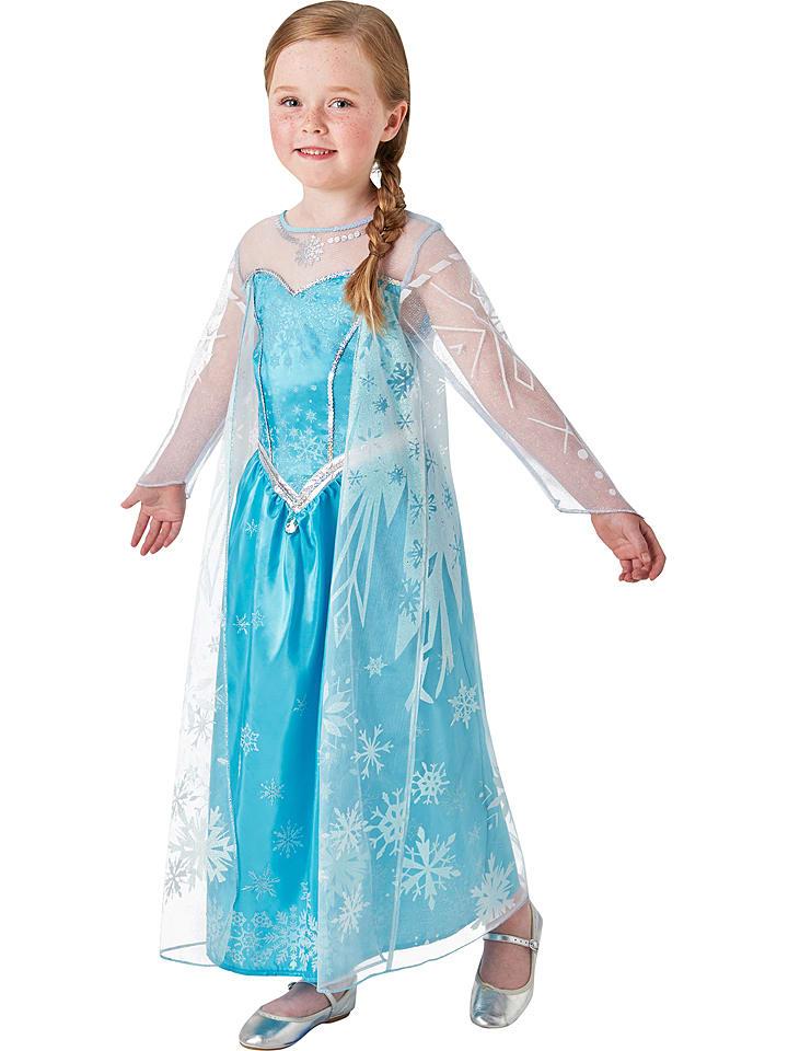 """Rubie`s Kostümkleid """"Elsa Frozen Deluxe"""" in Türkis/ Weiß"""