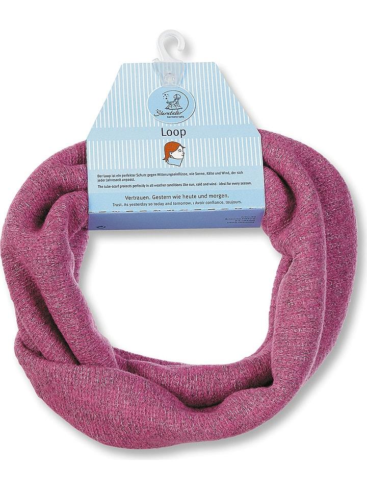 Sterntaler Szal-koło w kolorze różowym