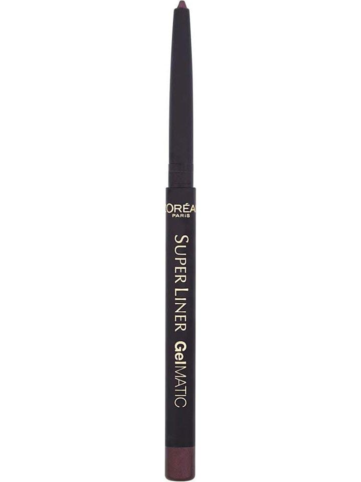 """L'Oréal Eyeliner """"SuperLiner GelMatic - Deep Violet"""" w kolorze fioletowym - 5 g"""