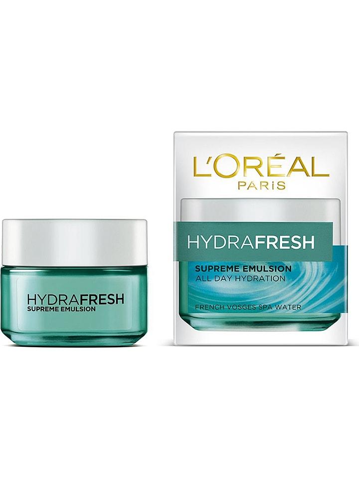 "L'Oréal Feuchtigkeitscreme ""Hydrafresh Supreme"", 50 ml"