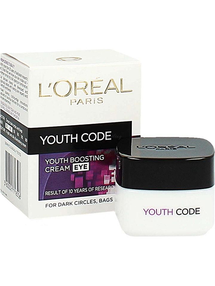"L'Oréal Augencreme ""Youth Code"", 15 ml"