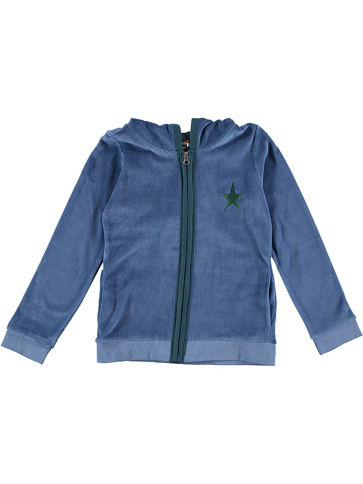 Bakery nights Pyjama-Jacke in Blau