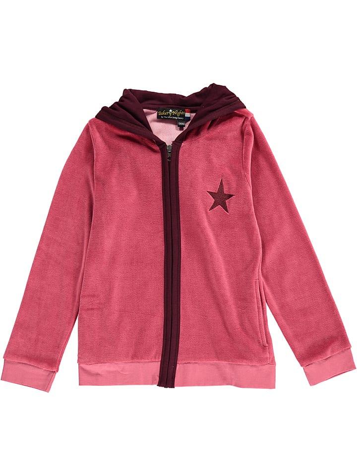 Bakery nights Pyjama-Jacke in Rot