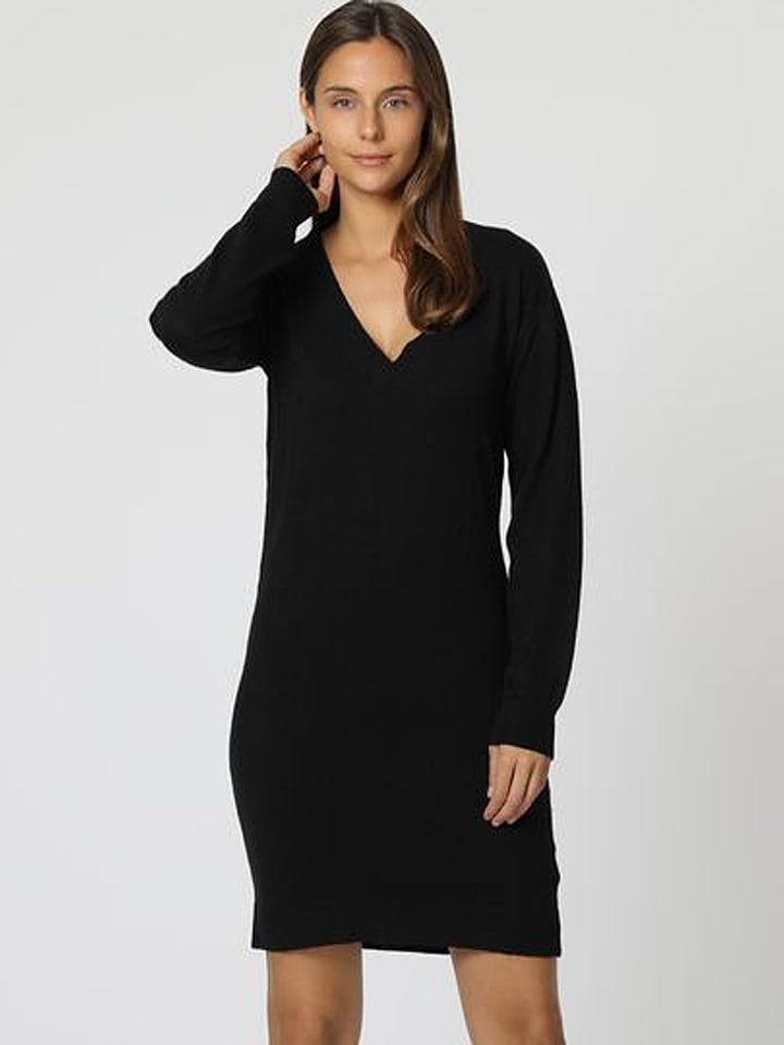 C& Jo Sukienka w kolorze czarnym