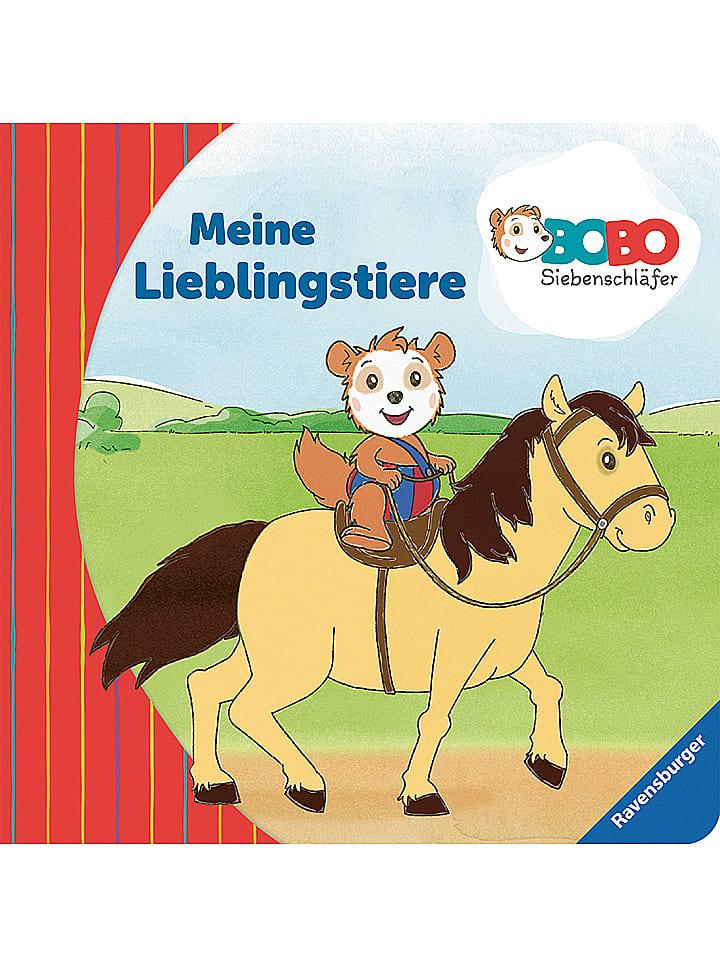 Ravensburger Malbuch Bobo Siebenschläfer: Lieblingstiere - 40% | Kinderbuecher