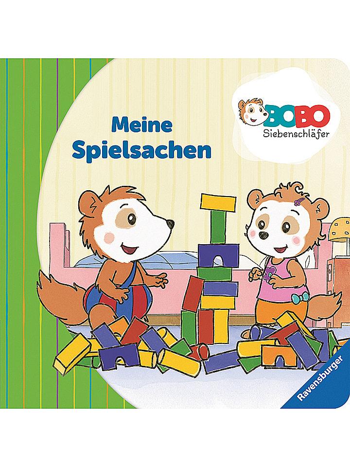 """Ravensburger Malbuch """"Bobo Siebenschläfer: Meine Spielsachen"""""""