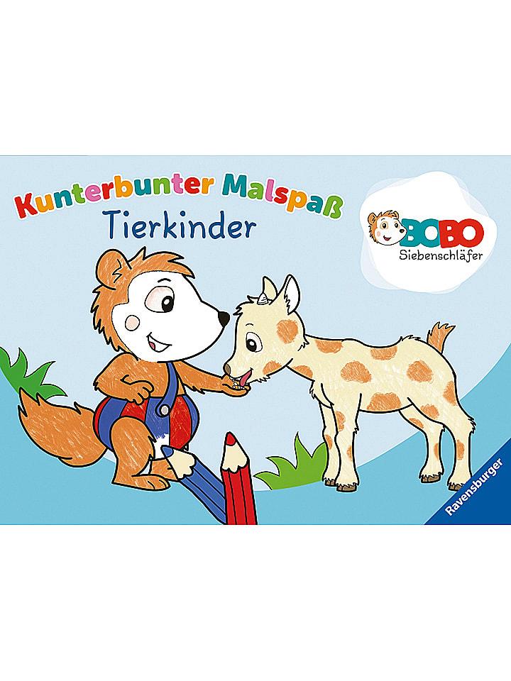 Ravensburger Malbuch Bobo Siebenschläfer: Tierkinder - 40% | Kinderbuecher