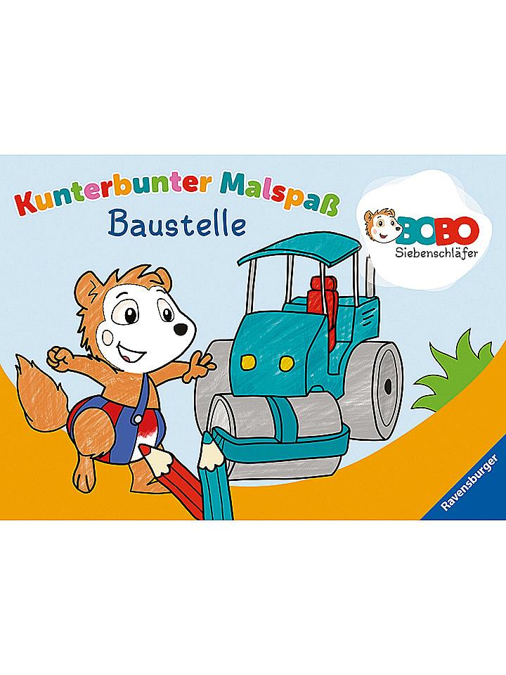 Ravensburger Malbuch Bobo Siebenschläfer: Baustelle - 40% | Kinderbuecher