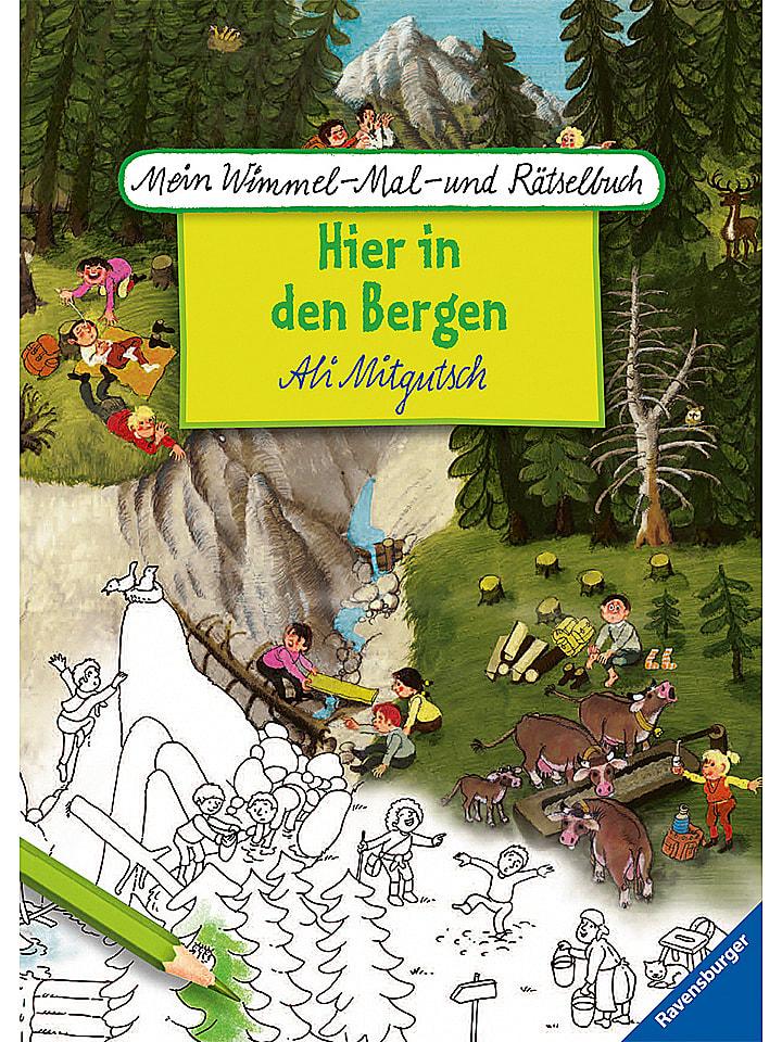 Ravensburger Malbuch In den Bergen - 14% | Kinderbuecher