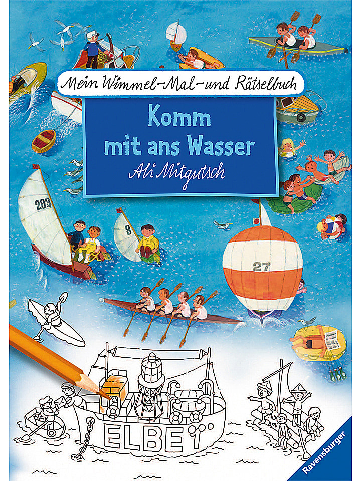 Ravensburger Malbuch Komm ans Wasser - 28% | Kinderbuecher