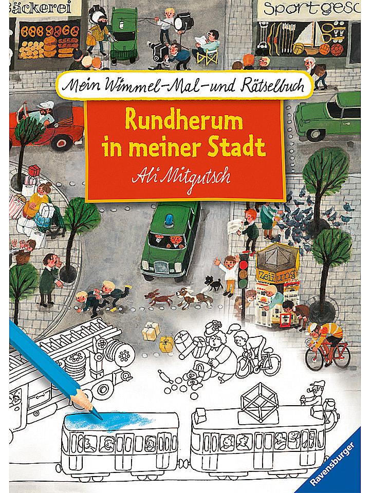 Ravensburger Malbuch Rundherum in meiner Stadt - 28% | Kinderbuecher
