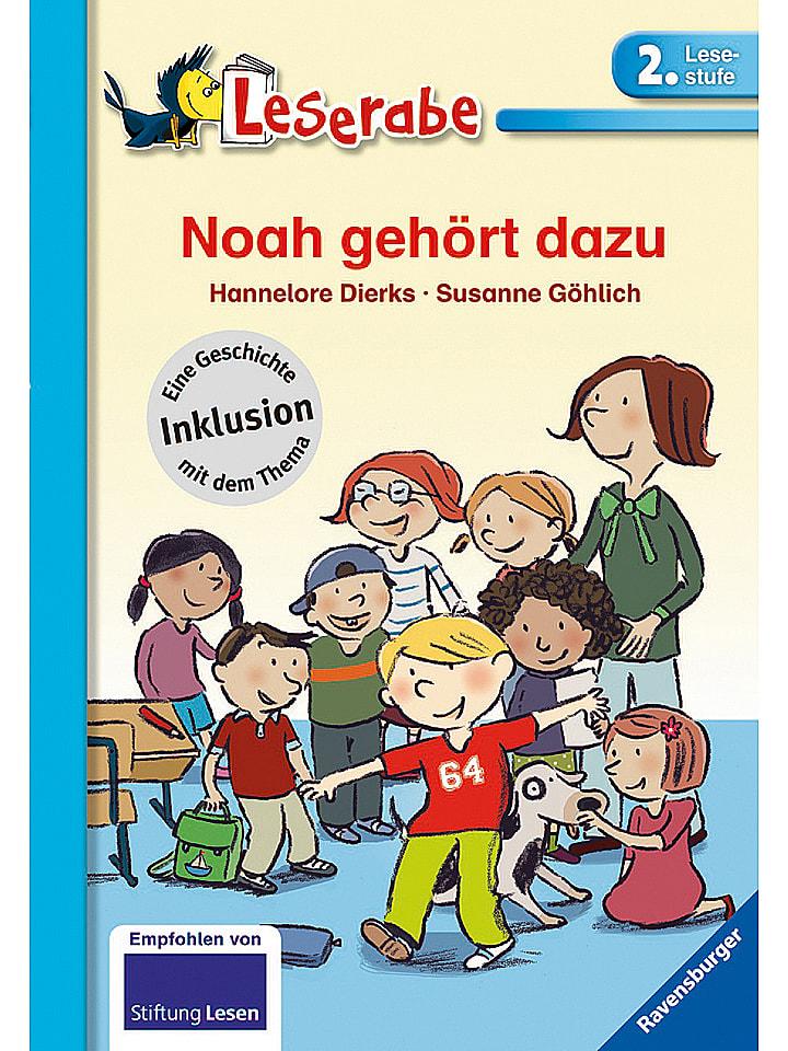 Ravensburger Lese-Lernbuch Noah gehört dazu - 2. Lesestufe - 25% | Kinderbuecher