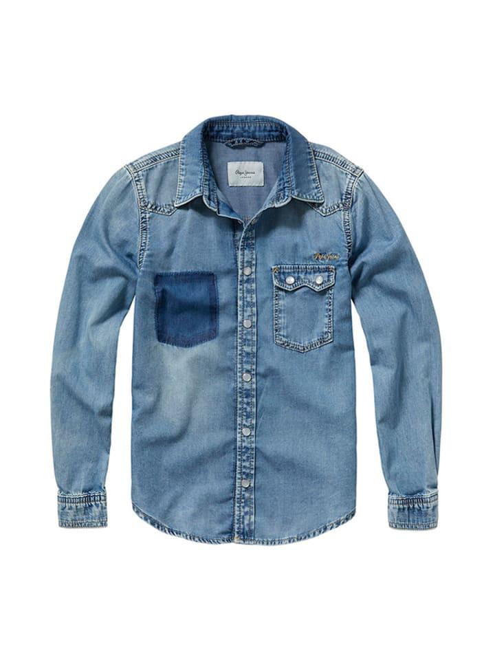 867100805 Koszula w kolorze niebieskim - Pepe Jeans - Wyprzedaż w Outlet Limango