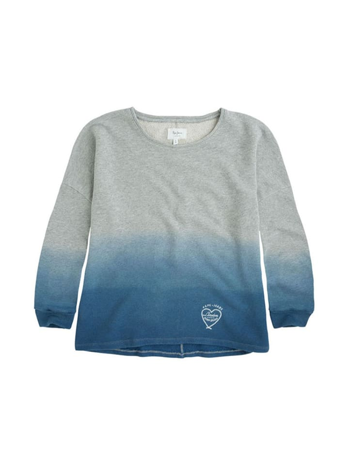 Pepe Jeans Bluza w kolorze szaroniebieskim