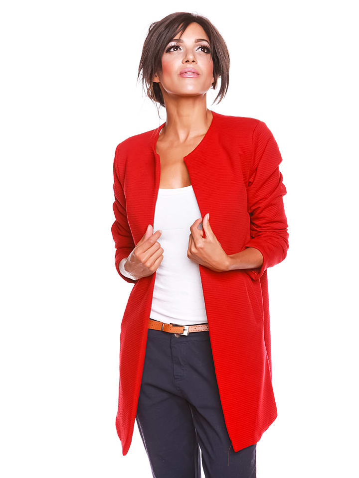 """Biscote Jacke """"Anthea"""" in Rot"""