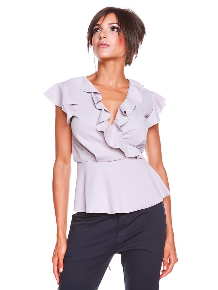 "Biscote Shirt ""Kessa"" in Grau"