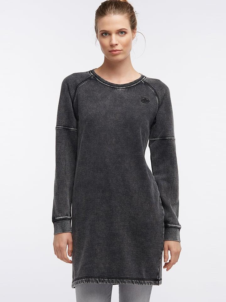 DreiMaster Sukienka dresowa w kolorze szarym