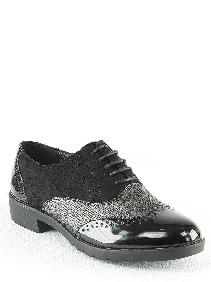 2ea59ab87430c5 La Bottine Souriante - Chaussures à lacets - noir   Outlet limango