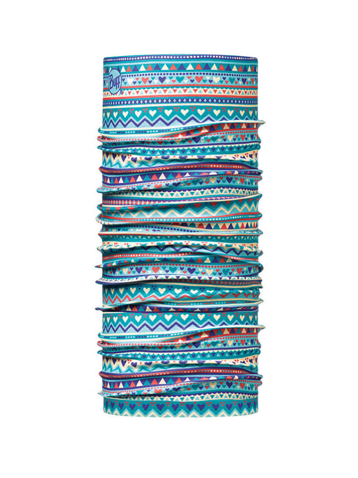Buff Chusta w kolorze niebieskim ze wzorem