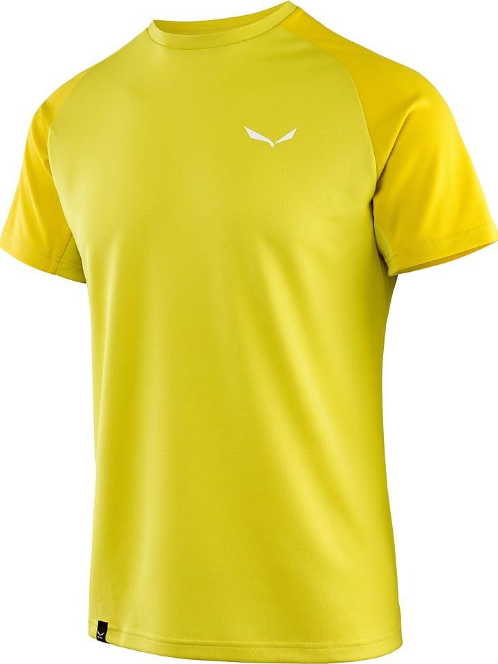 """Salewa Koszulka funkcyjna """"Sporty"""" w kolorze żółtym"""