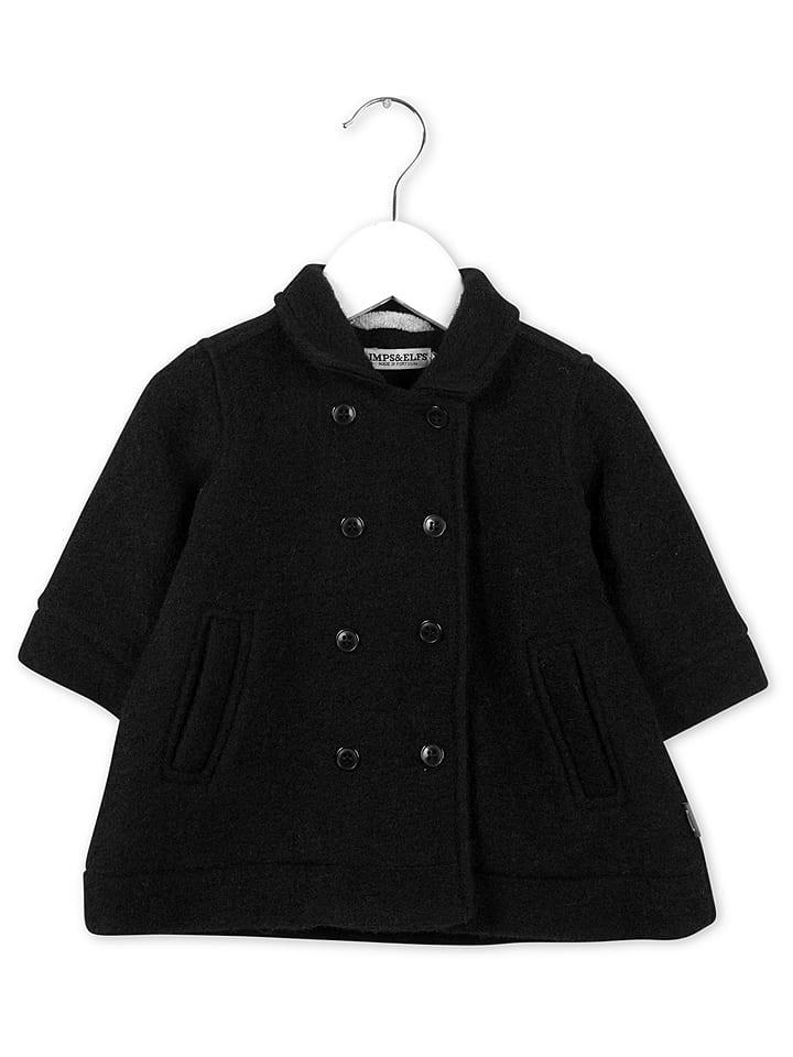 Imps & Elfs Mantel zwart