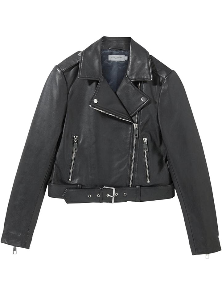 Liebeskind Skórzana kurtka w kolorze czarnym
