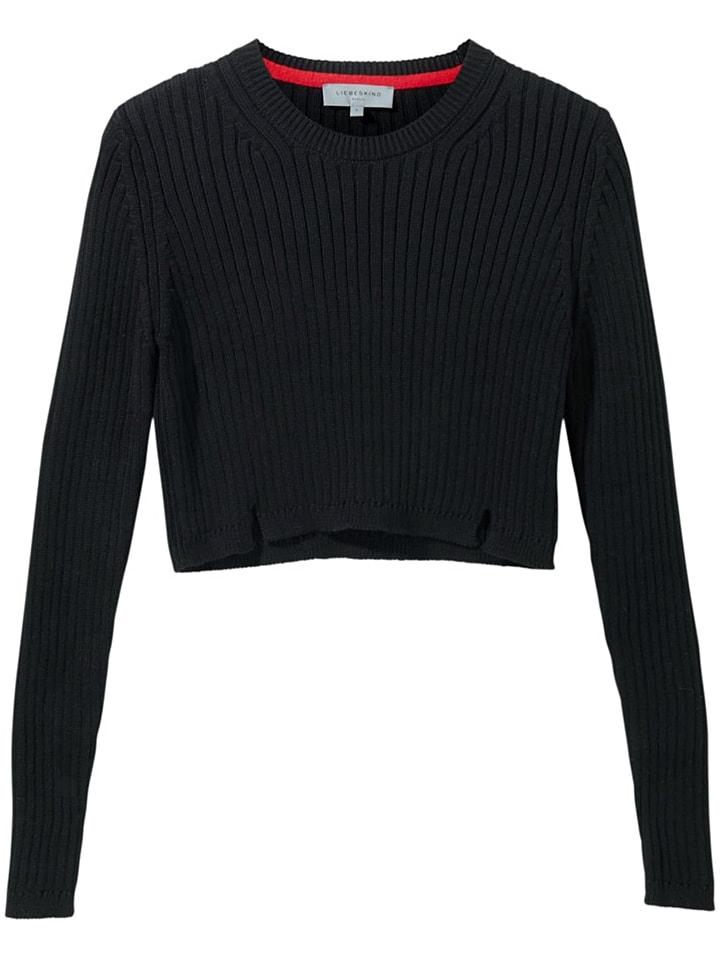 Liebeskind Sweter w kolorze czarnym