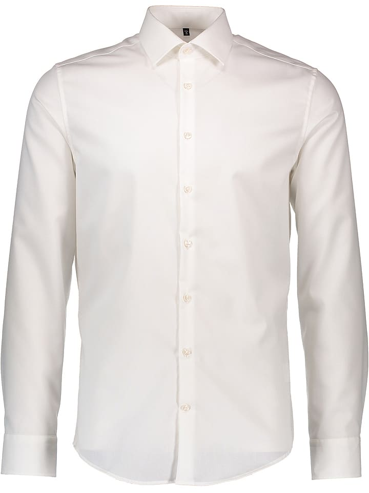 Seidensticker Hemd - Slim fit - in Creme