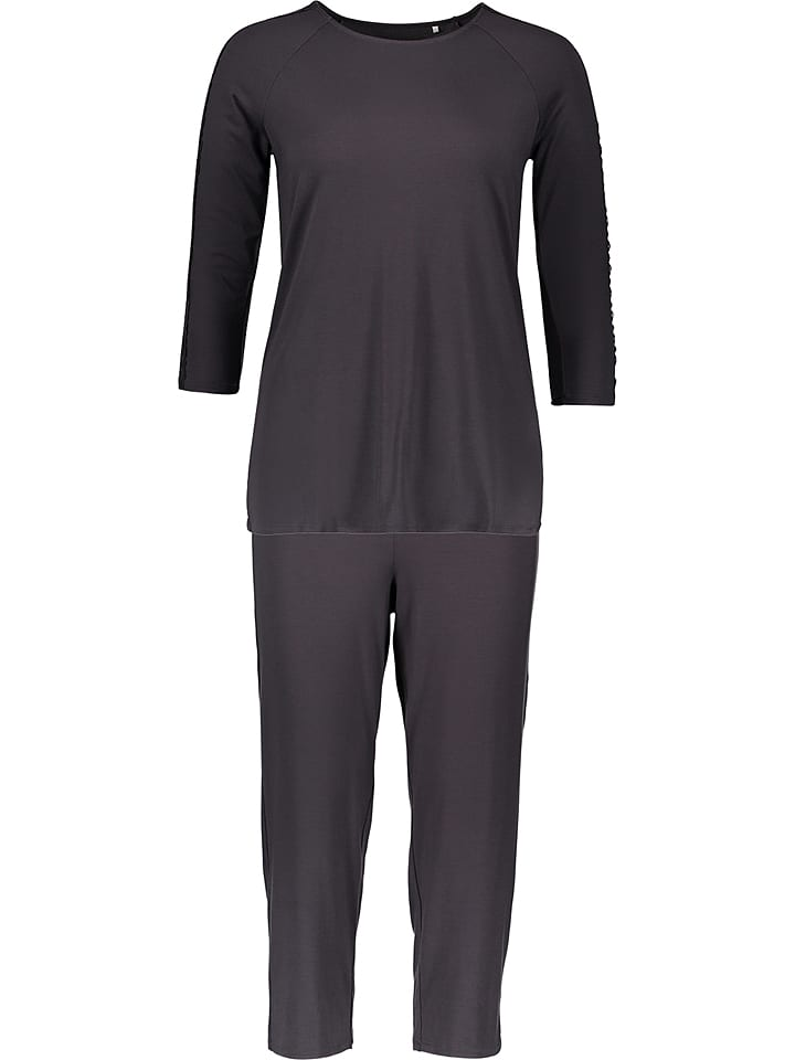 Calida Pyjama ´´Eliza´´ in Schwarz | 33% Rabatt | Größe XXS | Damenwaesche | 07613306495000