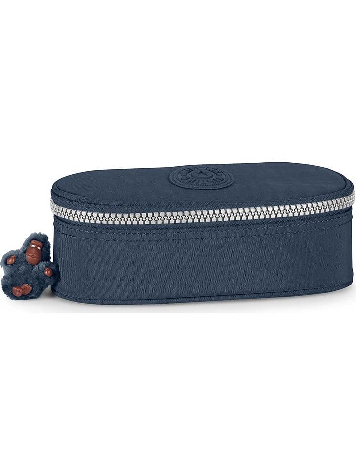 """Kipling Trousse plumier """"Duobox"""" - bleu foncé - 22 x 10 x 8 cm"""