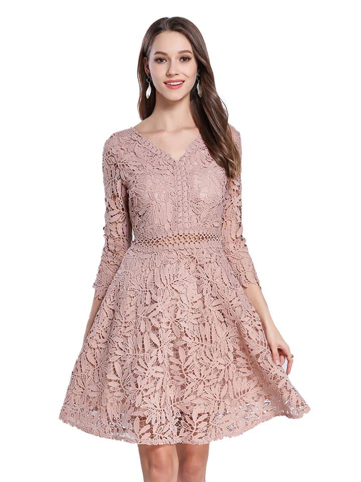 Kaimilan Sukienka w kolorze różowym