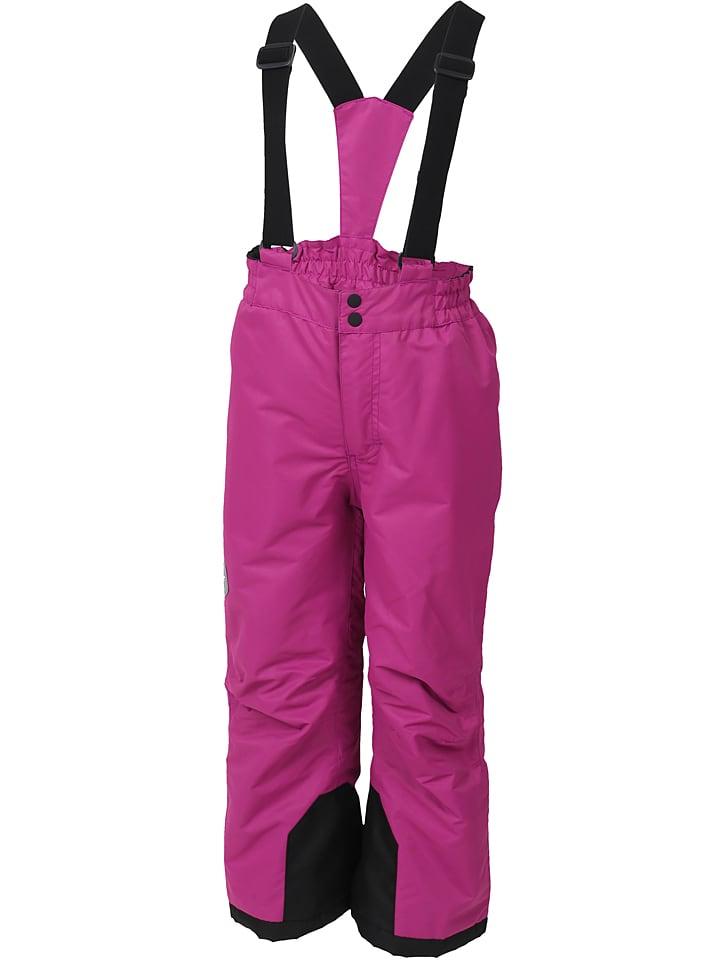 """Color Kids Spodnie narciarskie """"Salix"""" w kolorze różowym"""