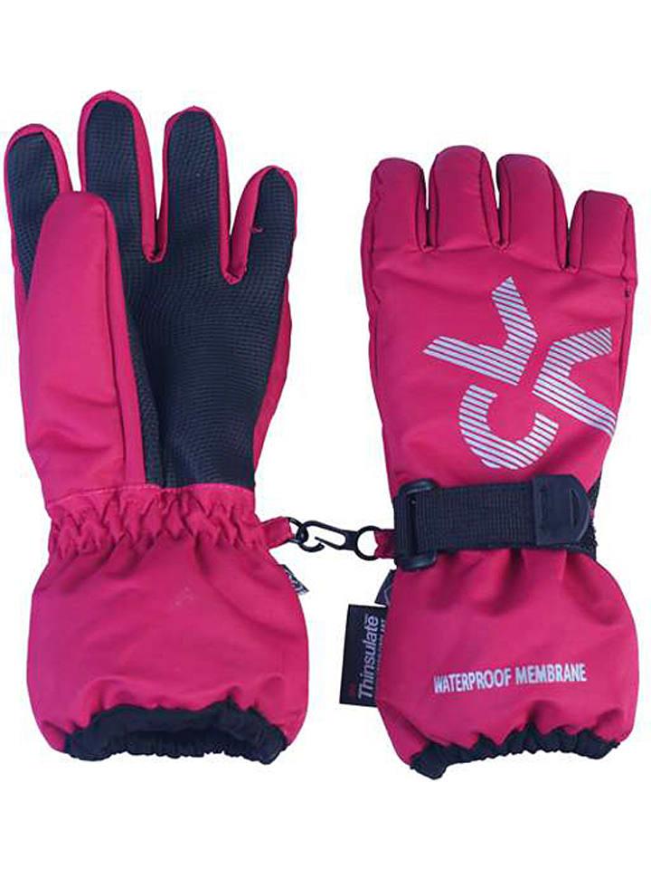 """Color Kids Rękawiczki """"Savoy"""" w kolorze różowym"""