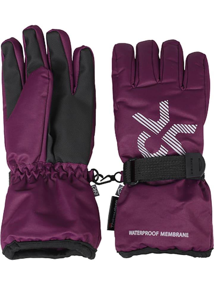 """Color Kids Rękawiczki """"Savoy"""" w kolorze fioletowym"""