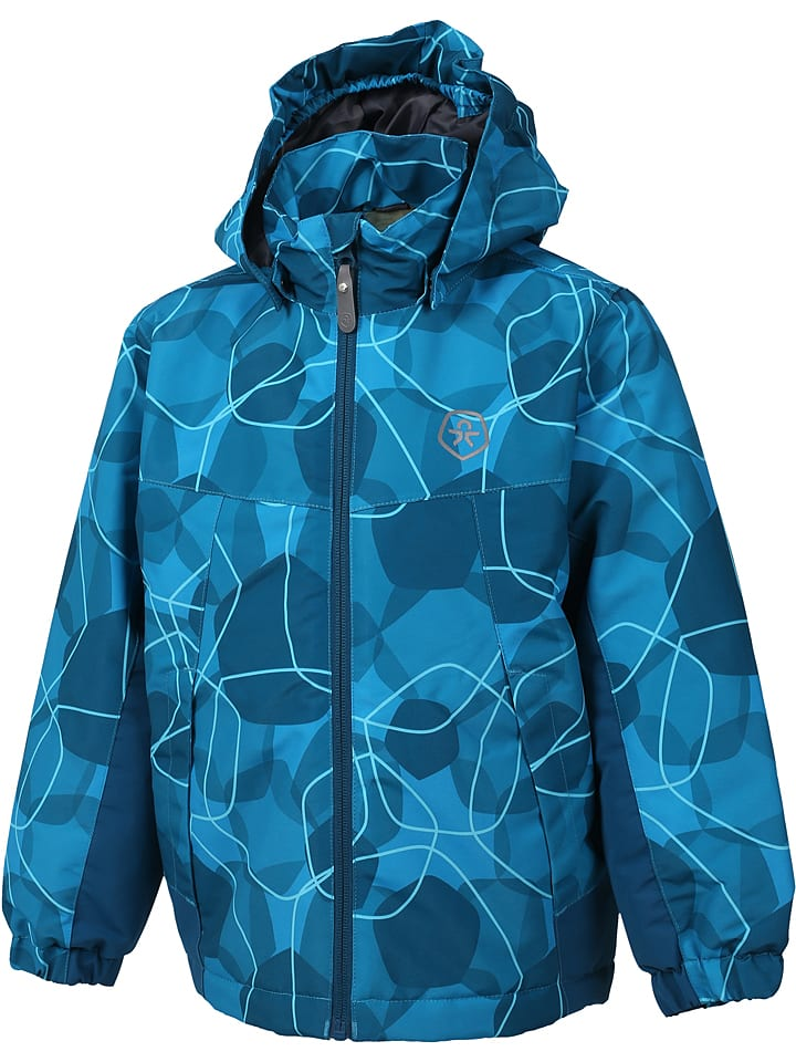 "Color Kids Funktionsjacke ""Konrod"" in Blau"