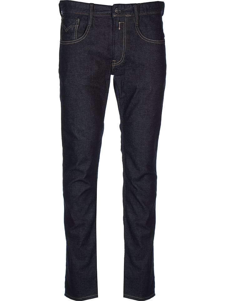 """Replay Jeans """"Anbass"""" - Straight fit - in Dunkelblau"""