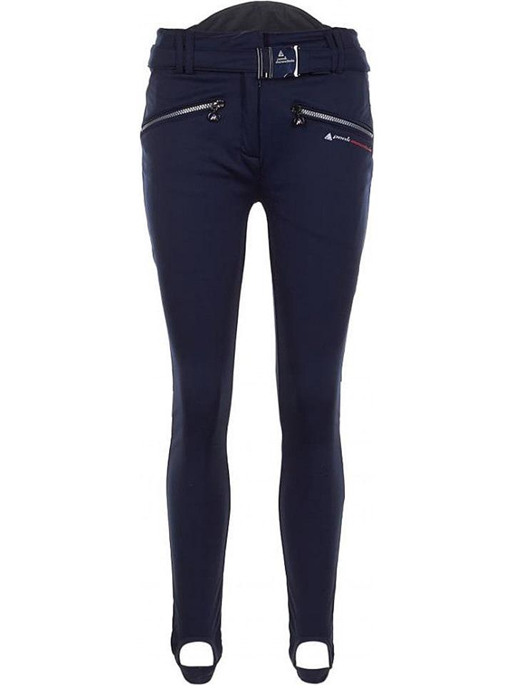 Peak Mountain Pantalon softshell - bleu foncé