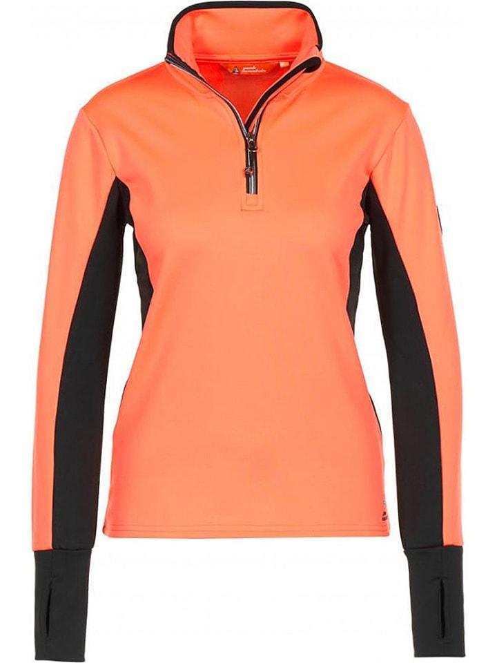 Peak Mountain Koszulka funkcyjna w kolorze pomarańczowym